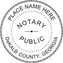 Georgia Notary Embosser Georgia Notary Public Notary Public Seal Notary Public Embosser