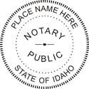 Idaho Notary Embosser Idaho State Notary Public Embossing Seal Notary Public Embossing Seal Notary Public Seal
