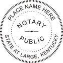 Kentucky Notary Embosser Kentucky State Notary Public Embosser Kentucky Notary Public Embossing Seal Notary Public Embossing Seal Notary Public Seal