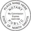 North Dakota Notary Embosser North Dakota Notary Public Seal North Dakota Notary Embossing Seal North Dakota Notary Public Notary Public Embossing Seal