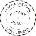 New Jersey Notary Embosser New Jersey State Notary Public Seal New Jersey Notary Public Embossing Seal Notary Public Embossing Seal Notary Public Seal