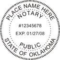 Oklahoma Notary Embosser Oklahoma State Notary Public Seal Oklahoma Notary Public Embossing Seal Oklahoma Notary Seal Notary Public Seal