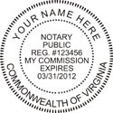 Virginia Notary Embosser