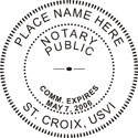St. Croix Notary Embosser