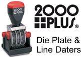 2000 Plus Line Die Plate Daters