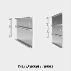 Multiple Signs Wall Bracket Frames