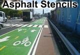 Street Asphalt Stencils