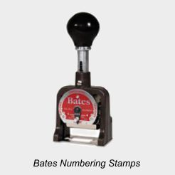 Bates Numbering Machines