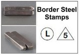 Steel Border Inspection Stamps