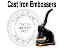 Cast Iron Embossing Seals