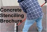 Concrete Stencil Brochure