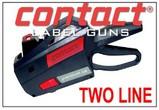 Contact Price Marking Gun, Two Line Labeler