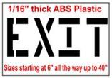 EXIT Stencils