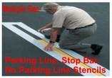 Parking Line Stencils