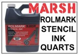 Marsh Rolmark Stencil Ink