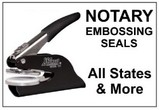 State Notary Embossing Seals