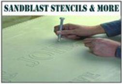 Sand Blast Rubber Stencil Material and Custom Cut Stencils