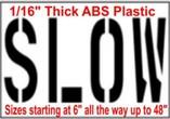 Slow Stencils