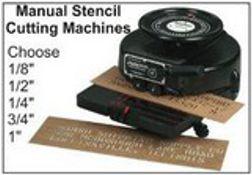Manual Stencil Cutting Machines