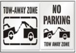 Tow Away Zone Stencils