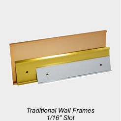 Tradtional Wall Frames - 1/16