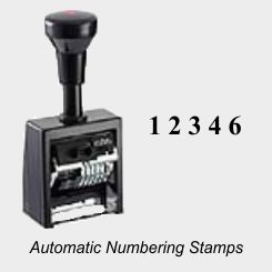 Consecutive Numbering Machines