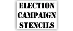 Election Campaign Stencils