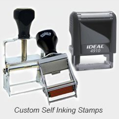 Self-Inking Rubber Stamps