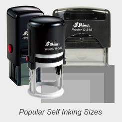 Popular Self Inking Rubber Stamps