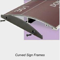 Curves Sign Frames