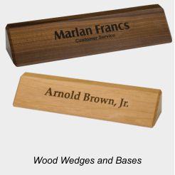 Wood Desk Holders