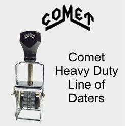 Comet Self-Inking Daters