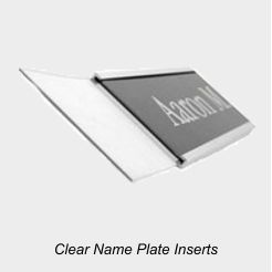 Clear Nameplate Inserts