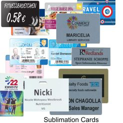 Magic Sublimation Cards