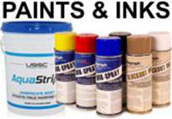 Paints, Stencil Inks, Marking Chalk and Striping Machines