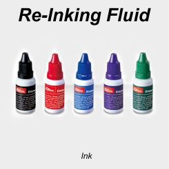 Pre-Inked Stamps Re-Inking Fluid