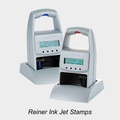 Reiner Electronic Ink Jet Stamps