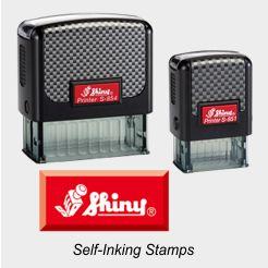 Shiny 850 Series Printer Stamps