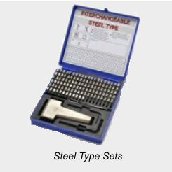 Steel Type Sets