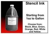 STENCIL INKS