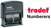 Trodat Numbering Stamps