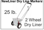 NewLiner 25 lb. 2 Wheel Dry Liner