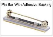 103S Bar pin with self-adhesive pad Name Badge Pin Backing