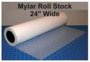 Mylar 24 inch x 300 feet roll stock