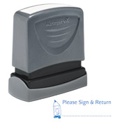 "Teacher Stamp ""Please Sign & Return"""