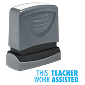 Teacher Stamp This Work Teach Assisted
