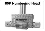 70P Steel Numbering Head