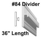 "#84 x 36"" Divider with 1/8"" Slot"