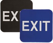 "EXIT Stock ADA Sign, 6""x6
