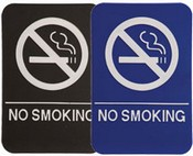 "No Smoking Stock ADA Sign, 6""x6""
